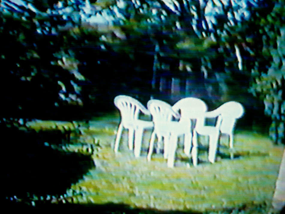 Untitled (Chairs), 80 x 60cm