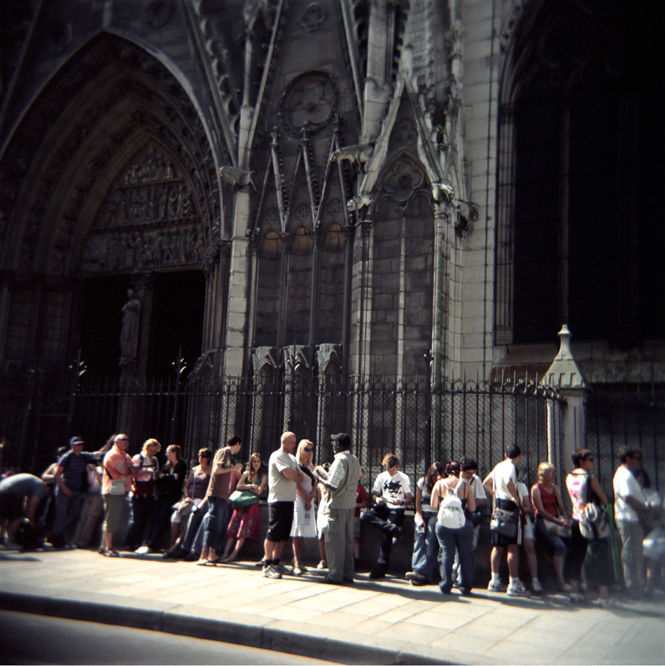 Untitled (Line to see Quasimodo), 36 x 36cm